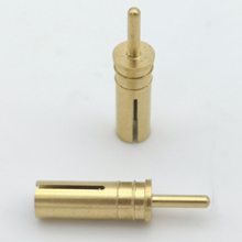 Precision brass automatic lathed connector