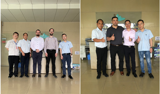 Some overseas customer engineer teams visited us to discuss projects