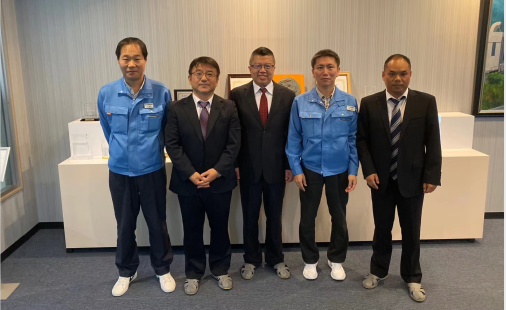 In October 2019, we visited a potential customer in Japan