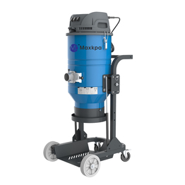 Concrete Dust Control Vacuums with Non-Clogging Filtration.