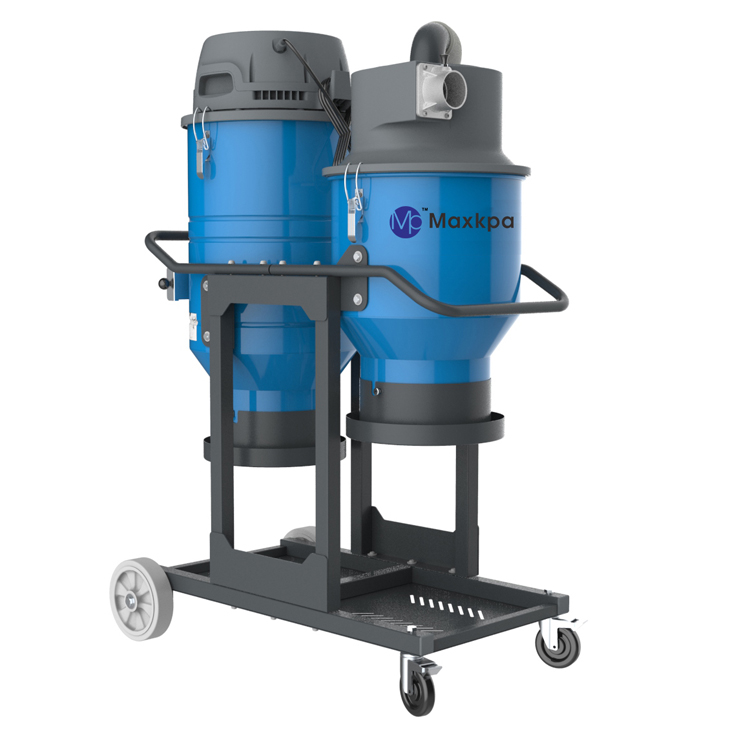 T5 series Single phase double barrel dust extractor