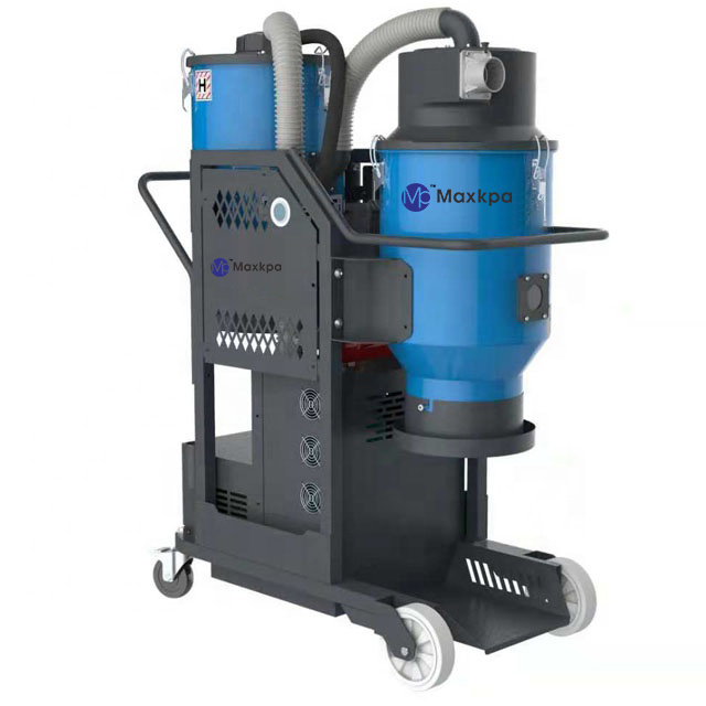 double barrel dust extractor