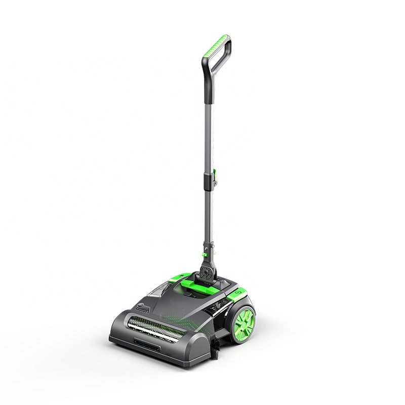 Smart Upright Lithium Battery Floor Scrubber Cleaning Machine, Floor Washing Scrubber