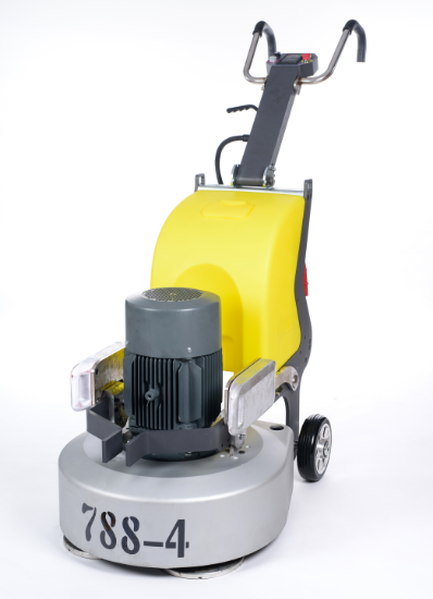 Floor cleaning scrubber and dryer