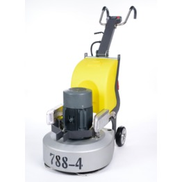 NEW A6 Three heads concrete floor grinding machine with competitive price