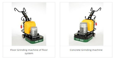 How does the high-speed polishing machine play its role in the concrete floor