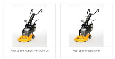 How to choose the ground planetary grinder for the floor grinder