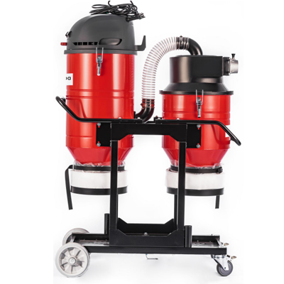 T5 series Single phase double barrel dust extractor industrial dust removal equipment supplier