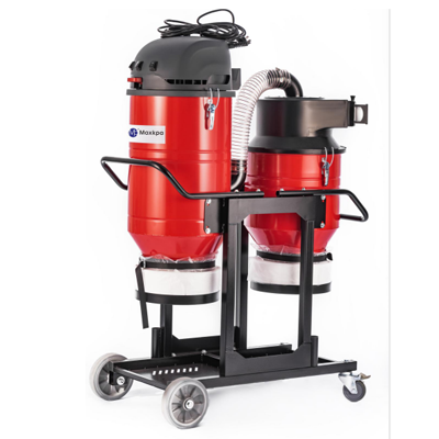 T5 series Single phase double barrel dust extractor industrial dust removal equipment manufacturer