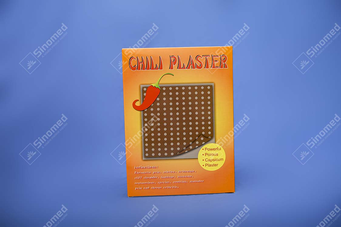 Hot Selling Cheap Price Medical Chili Plaster Manufacturers & Supplier
