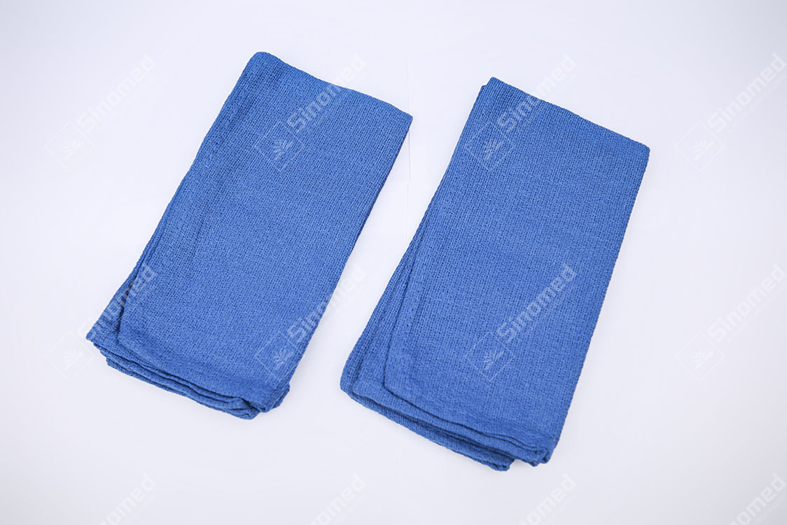 High Quality Blue Soft Operating Room Towel