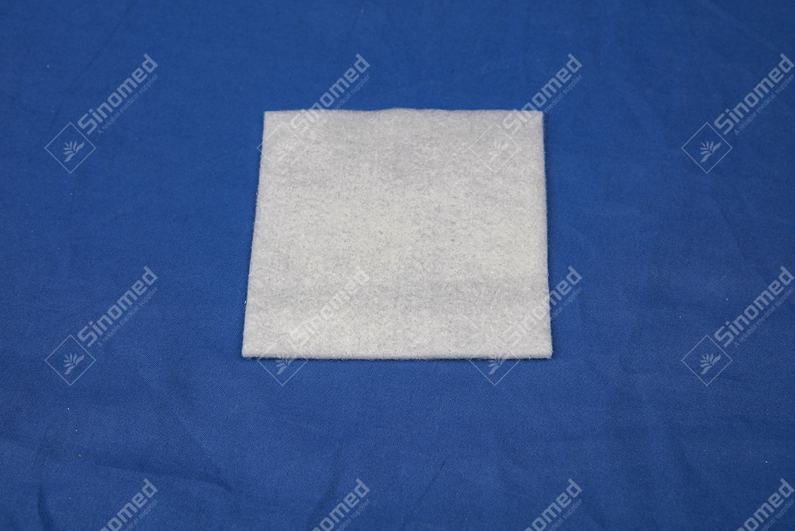 Cheap Price New Products Medical Wound Dressing Self-adhesive Type Stop Bleeding Effectively Alginate Dressing Manufacturers & Exporter