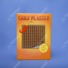 Hot selling products medical pain relieving chili patches for back pain belladonna plaster