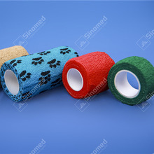 High quality children's hospital cohesive elastic bandage wholesale colorful self adhesive medical elastic bandage