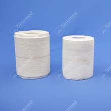 High quality cotton medical sports sprains light elastic adhesive bandage