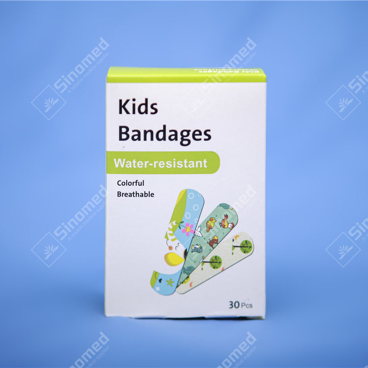 wholesale adhesive bandages sterile lovely kids first aid adhesive bandage plasters for wounds