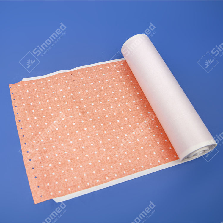 Zinc oxide adhesive perforated plaster