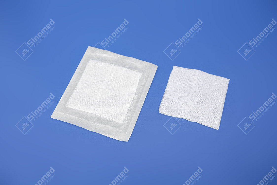 Hot Sale White Sterile Gauze Swabs
