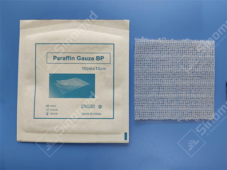 Hot Sale Medical Paraffin Gauze Dressing Cheap Price Manufacturers