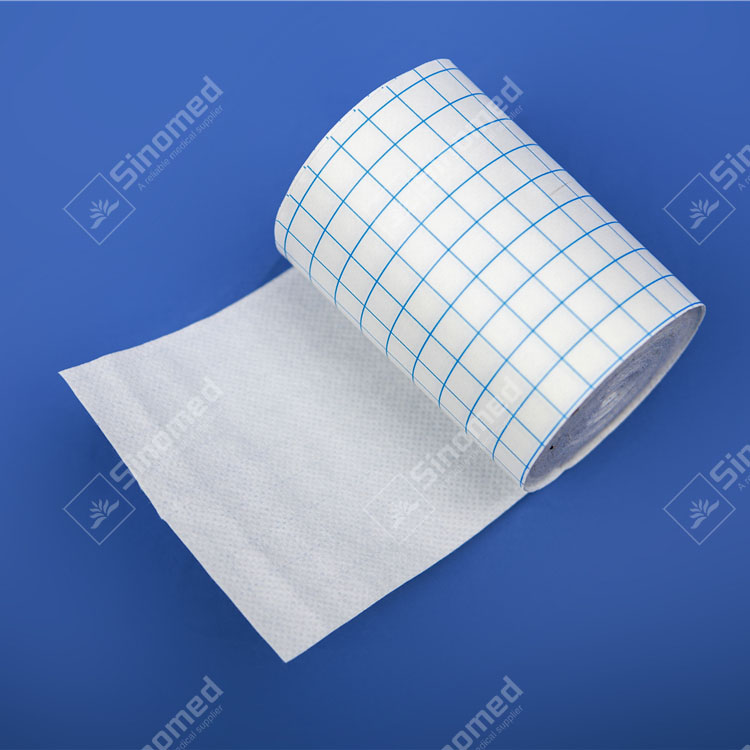 Wholesale professional self adhesive waterproof white medical supplies wound dressing