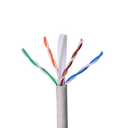 Lszh jacket drop cable UTF Cat6 network cable manufactory from China