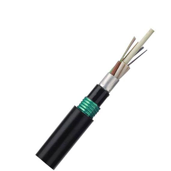 GYFTA53 fiber optic cable 24 core single mode fiber optic cable