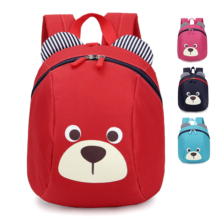 China factory high quality polyester children kids school backpack