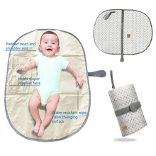 New Design Waterproof Portable Diaper Pad Baby Changing Mat for Baby Girl Boy