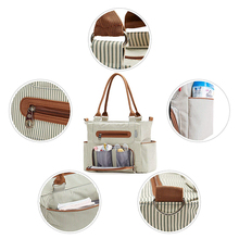 Fashionable Purse Like Punk Diaper Bags Light Weight Premium Diaper Bags with Shoulder Straps