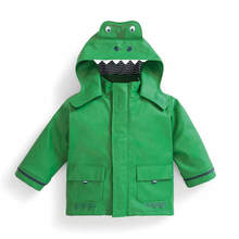 Boy waterproof dinosaur jacket boys coats sale
