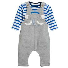 Fashion baby boy winter clothes pants and cotton t