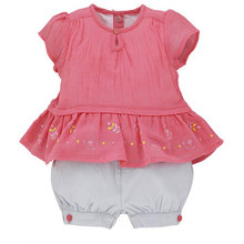 High quality baby girls clothing set 2pcs