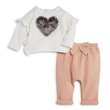 High quality woolen baby girl winter clothes