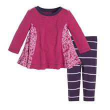 Fall pink velvet fabric long sleeves baby girls clothes