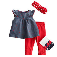 Wholesale summer baby cotton frock designs girl dresses