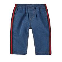 Baby clothing fancy denim pants new design baby boys wear jeans
