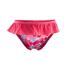 swimwear colorful flower shorts panties one piece