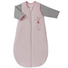 Solid color cotton jersey  baby sleeping bag