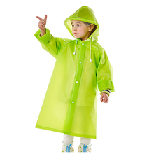 Hot selling portable children raincoat