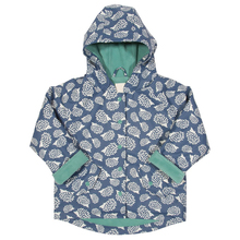 New design waterproof hooded coat girls outerwear