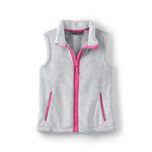 Good quality warm girls fleece vest