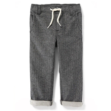 Factory price elastic waist pants for boys