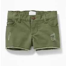 Fashion denim shorts for toddler girls