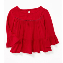 Factory wholesale top for toddler girls