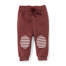 Knee patch baby joggers pants kids leggings
