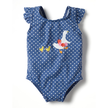 Factory wholesale print polyester swimwear kids