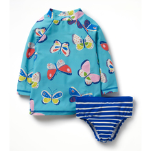 High quality strip kids wholesale swimwear for baby girls