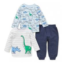 Fashionable dinosaurs piece baby play set