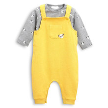 Winter baby cotton overalls set factory outlets
