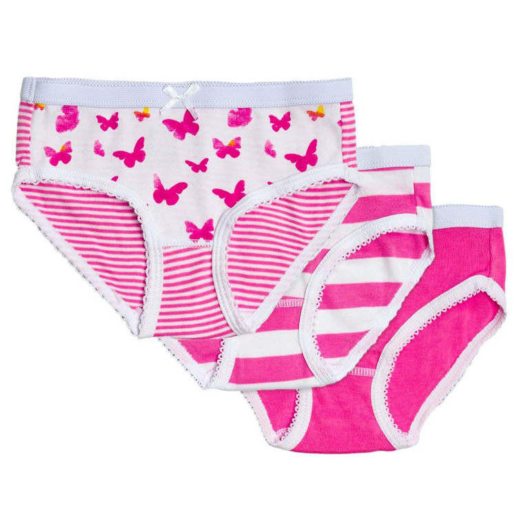 Factory outlets girls butterfly print briefs